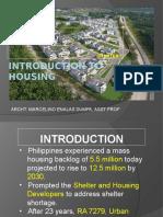 Intro to Housing