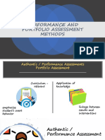 PERFORMANCE AND PORTFOLIO ASSESSMENT METHODS.pptx