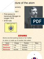 Atoms and Ions