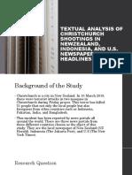 Textual Analysis on Newspapers Headlines
