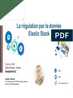 Webinaire#2 Elastic Stack {on Telecom} La Régulation Par La Donnée