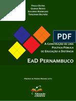 [eBook] Ead Pernambuco - A Construção de Uma Política Pública de Educação a Distância