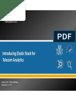 Webinar Elastic Stack {on Telecom} English Webinar Part (1)