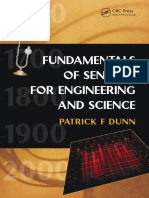 Dunn, Patrick F. - Fundamentals of Sensors for Engineering and Science-CRC Press (2011)