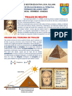Ficha Del Teorema de Tales