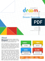 Droom Overview Booklet July 2019