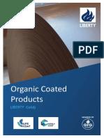 Liberty Galati Organic Coated Products Brochure