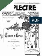 Souvenir D'Espagne, Serenade C.munier Complete Score