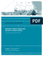 Mapping Climate Change and Security in North Africa