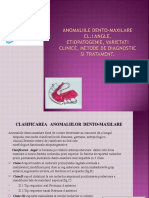 Anomaliile Dento-maxilare Cl.I Angle