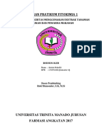 Laporan Pratikum Fitokimia 1 (Kromatografi Kertas)