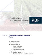 Irrigation engineering innovative teaching method
