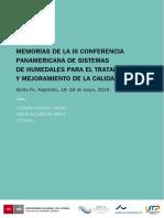 Conferencia Humedales 2016 E.book