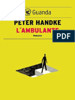 Peter Handke - L'Ambulante (2017)