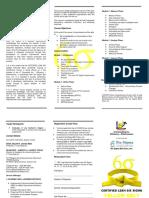 BROCHURE Certified Lean Six Sigma Yellow Belt Course Sept 2019