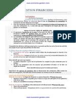 Cours de Gestion Financière Des Entreprises PDF