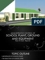 ED239 SchoolPlant