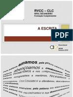CLC Escrita RosaAmaral