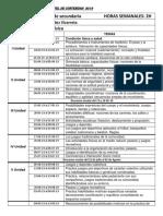CARTEL de CONTENIDOS 2019 Educación Física 1ro de Secundadria