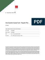 ValueResearchFundcard AxisDynamicEquityFund RegularPlan 2019Oct11