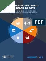 Abordagem de dados baseada em direitos humanos
