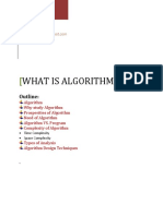 Chapter #1 analysis of Algorithm