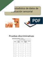Estadistica no parametrica en analisis sensorial de alimentos