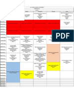 Elective Time Table (CR-54)