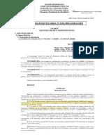 NOTA PARA BG N° 010 - TAF