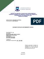 Relatório 01 - MRU