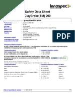 ClayBrake 200 SDS