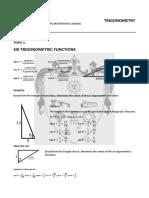Trigo 1 - Six Trigonometric Functions