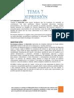 TEMA 7 Terapia Cognitivo Conductual (TCC)