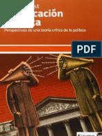 [Serie Ensayos] Rainer Forst - Justificación y Crítica. Perspectivas de Una Teoría Crítica de La Política (2014, Katz)