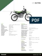 Kawasaki Klx 150 Latin America Specification Sheet (1)