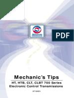 MT1958EN, 700 Serie Electronic Controls Mechanics Tips