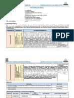 Programación Anual 1ro Desarrollo Personal Ciudadanía y Cívica