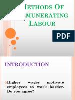 Method of Remunerating labor 3
