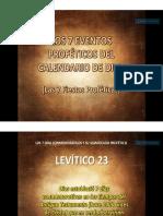 las siete fiestas proféticas de Dios