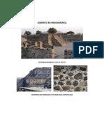 Cemento en Mesoamerica