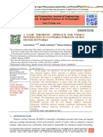 A GAME THEORETIC APPROACH FOR ENERGY OPTIMIZATION IN CLUSTERED WIRELESS AD HOC SENSOR NETWORKS