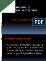 Reforma Protestante - 12 unidade. História. IPB.