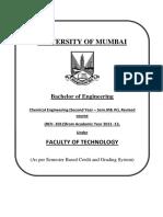 Mumbai University SE-ChemicalSyllabus
