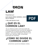Commom Law V