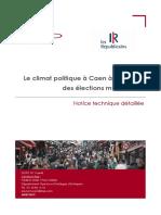 Sondage Ifop Municipales à Caen