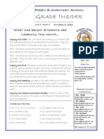 4th grade newsletter october