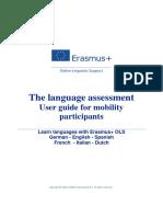 OLS Language Assesment PARTICIPANT User Guide LA EN15-16