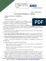 Convenio Informa 18 2014