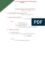 Formulas y Ejemplos Explicativos Para El Calculo de Intereses Credito Prendario