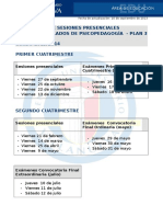 Horario 2º Cuatrimestre 2013-14